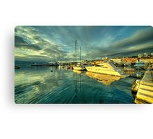 Rijekan reflections Canvas Print
