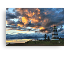 Lighthouse - West Point Canvas Print
