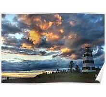 Lighthouse - West Point Poster
