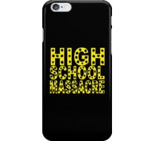 High School Massacre iPhone Case/Skin