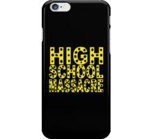 High School Massacre iPhone Case/Skin