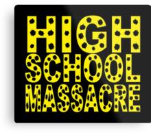 High School Massacre Metal Print