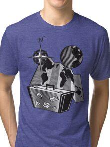 On The Road Again Tri-blend T-Shirt