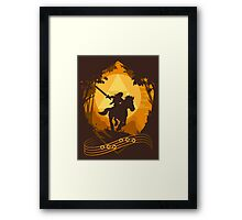 Epona's Song Framed Print