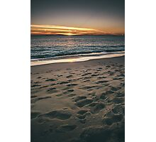 Sand records Photographic Print