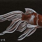 Fancy Gold - Fantailed Goldfish by John Houle