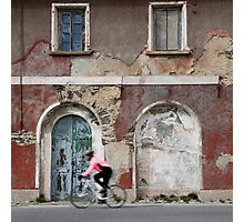Cycle Tour Photographic Print