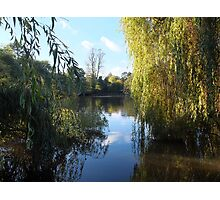 At The Lakeside  Photographic Print