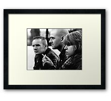 Bikers at the Man O' War Framed Print