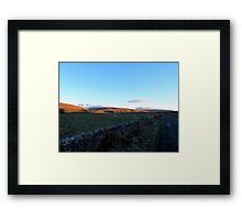 A View To Ribblehead Viaduct Framed Print