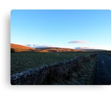 A View To Ribblehead Viaduct Canvas Print