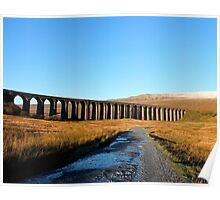 Ribblehead Viaduct and Whernside Poster
