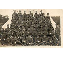 WW1 Royal Engineers Photographic Print
