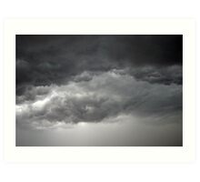 Thunder Storm Clouds Art Print