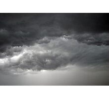 Thunder Storm Clouds Photographic Print