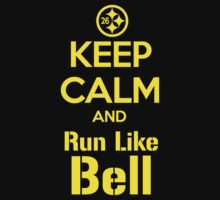 Keep Calm and Run Like Bell .1 by heliconista