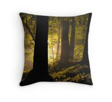 Arboretum Ablaze Throw Pillow