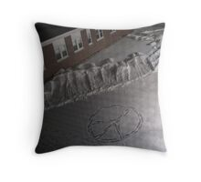 Peaceful Footsteps Throw Pillow