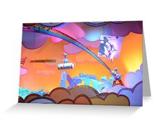 Disney Figment Disney Dreamfinder Disney Dragon Greeting Card