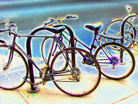 bikes at rest by brian gregory
