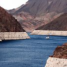 Lake Mead at Hoover Dam by Tausha