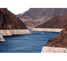 Lake Mead at Hoover Dam Photographic Print