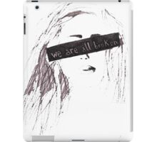 We are all broken iPad Case/Skin