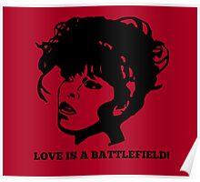 Love=Battlefield Poster