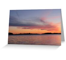 Sunsetting  Greeting Card