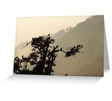 Dawn in the Himalaya Greeting Card