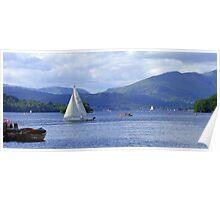 Lake Windermere II Poster