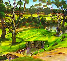 How green is my golf course by tola