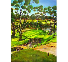 How green is my golf course Photographic Print