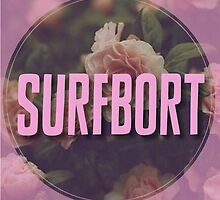 Beyonce Surfbort Surfboard Funny Floral Design by hellosailortees