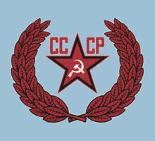 Russian Soviet Red CCCP One Piece - Short Sleeve