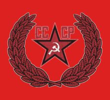 Russian Soviet Red CCCP Baby Tee
