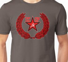 Russian Soviet Red CCCP Unisex T-Shirt