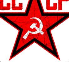 Russian Soviet Red CCCP Sticker