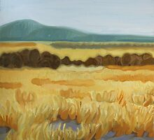 Yellow Landscape by Elohim Sanchez