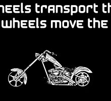 Two wheel moves the soul by tekybala
