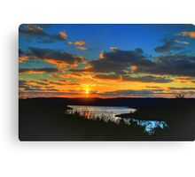 Sunset Melody Canvas Print