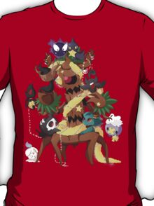 Ghostly Christmas T-Shirt