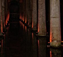 The Basilica Cistern Sticker