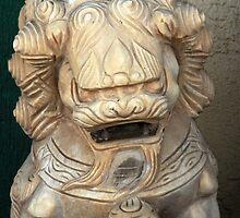 Chinese Statue by Ryan Houston
