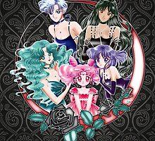 Sailor Senshi - Outer Princess (Art Edit) by alphavirginis