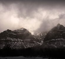 Provo Canyon - Winter Clouds by Ryan Houston