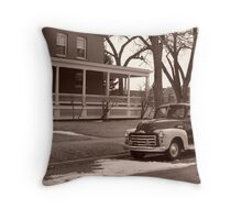 Older Days Throw Pillow