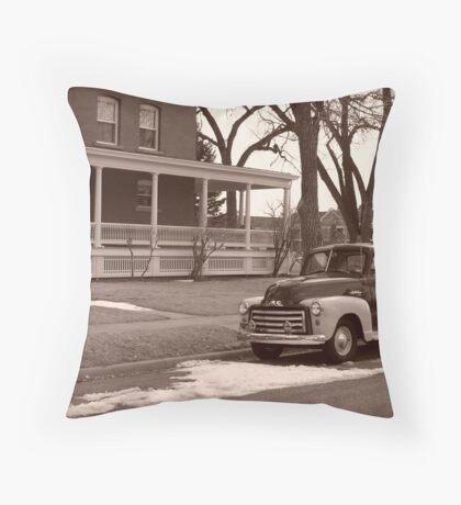 Older Days Throw Pillow
