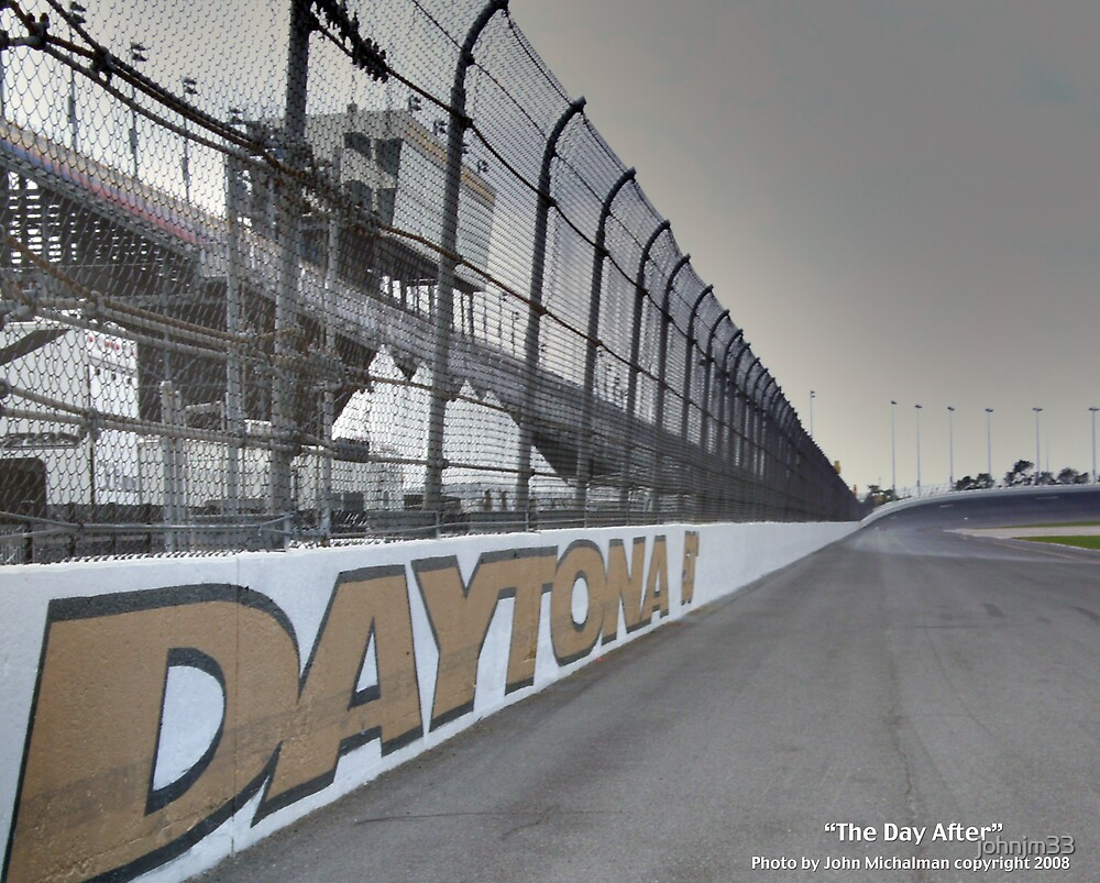 Daytona 500 / The Day After by johnjm33