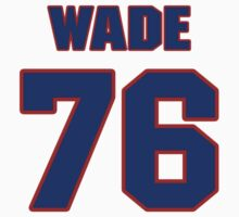 National football player John Wade jersey 76 by imsport